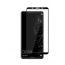 Folie protectie ecran Premium Tempered Glass full size pt Huawei Mate 20 Pro, black