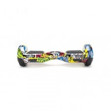 Scooter Electric (Hoverboard) Freewheel Junior Lite - Graffiti, yellow