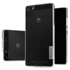 Husa protectie spate Nillkin Nature silicon pt Huawei P8 Lite