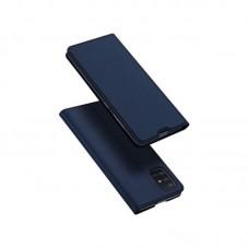 Husa Book Dux Ducis Skin pt Samsung Galaxy A12, blue