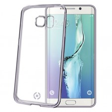 Bumper Celly Laser Cover Transparent Samsung Galaxy S6 Edge