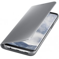 Husa Clear View Standing Cover Silver EF-ZG955CSEGWW pt Samsung Galaxy S8+