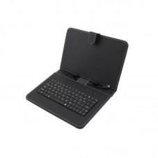 Husa cu tastatura microUSB Esperanza Madera black pt tableta 10.1