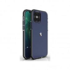 Husa protectie spate Atlas Hey pt Apple iPhone 12 Pro Max, black