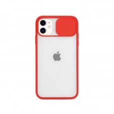 Husa protectie spate Atlas Kia pt Apple iPhone 12 mini, red