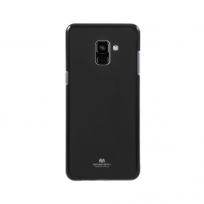 Husa protectie spate Goosperry silicon jelly soft black pt Samsung Galaxy A8 (2018)