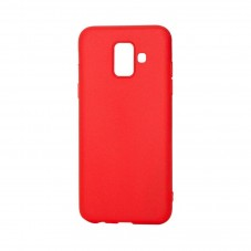Husa protectie spate Just Must Candy red pt Samsung Galaxy A6 (2018)
