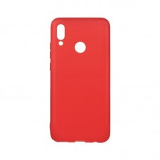 Husa protectie spate Lemontti silicon red pt Huawei Y7 (2019)