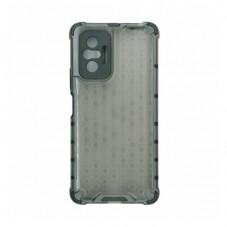 Husa protectie spate Millo Antishock Hexa pt Xiaomi Redmi Note 10 Pro, black