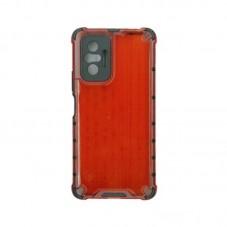 Husa protectie spate Millo Antishock Hexa pt Xiaomi Redmi Note 10 Pro, red