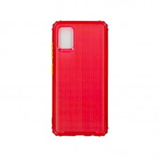 Husa protectie spate Millo Matte Crack pt Samsung Galaxy A21s, red