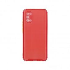 Husa protectie spate Millo Silicon Matte Crack pt Samsung Galaxy A02s, red