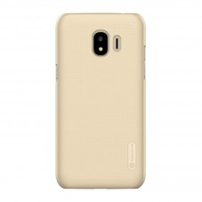 Husa protectie spate Nillkin Frosted gold si folie pt Samsung Galaxy J2 Pro (2016)