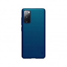 Husa protectie spate Nillkin Super Frosted Shield Matte pt Samsung Galaxy S20 FE, peacock blue
