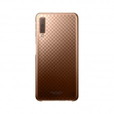 Husa protectie spate Samsung gradation cover gold pt Samsung Galaxy A7 (2018)