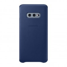 Husa protectie spate Samsung leather cover navy pt Samsung Galaxy S10e