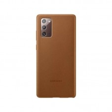Husa protectie spate Samsung Leather Cover pt Samsung Galaxy Note 20, brown