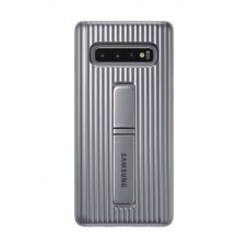 Husa protectie spate Samsung Protective Standing cover silver pt Samsung Galaxy S10
