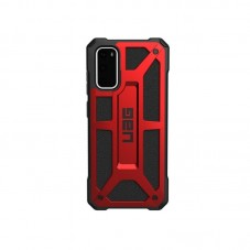 Husa protectie spate UAG Monarch Series pt Samsung Galaxy S20, crimson red