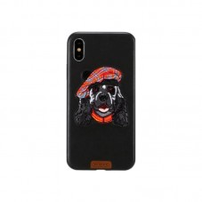 Husa protectie spate WK Design Pet Dog pt iPhone XXS