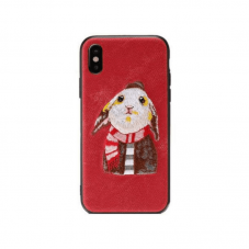 Husa protectie spate WK Design Pet red pt iPhone 78