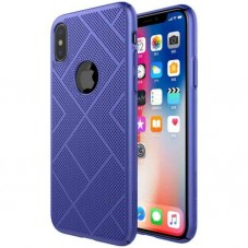 Husa protectie spate Nillkin Air case Blue pt iPhone X