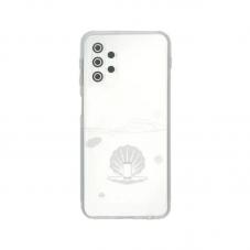 Husa protectie spate Millo Silicon pt Samsung Galaxy A32 5G, transparent