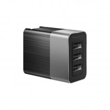 Incarcator retea Mcdodo Travel 3 x USB, 3.4A, black