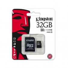 Card de memorie Kingston 32gb cu adaptor class 10