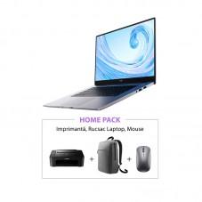 Pachet Huawei Matebook D 15 + imprimanta + accesorii