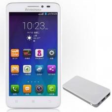 Smartphone Dual SIM Lenovo A606 LTE + Acumulator Lenovo 10000mAh