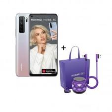 Pachet Huawei P40 lite 5G, silver space + gift box