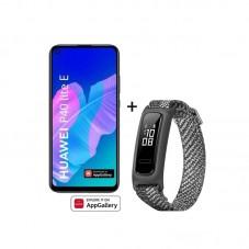 Pachet Huawei P40 lite E + bratara fitness Huawei Band 4e