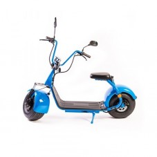 Moped Electric FreeWheel City Rider, blue
