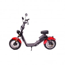 Moped Electric FreeWheel MotoRo S1 Red - 1200 W