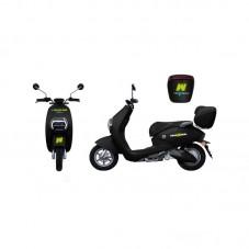 Moped Freewheel E-Scooter Mine Plus, Motor Bosch 800W, Autonomie 70 km, Viteza maxima 45 km/h, black