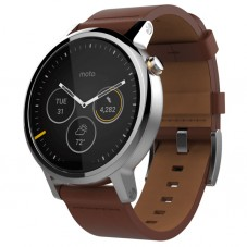 Ceas Motorola Moto 360 Gen2 46mm Smartwatch leather