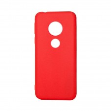 Husa de protectie Just Must Candy red pt Motorola Moto G6 Play