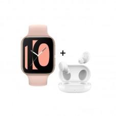 Pachet Smartwatch Oppo Watch + Casti Oppo Enco W11