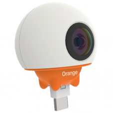 Orange Live Cam 360°, white
