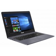 "Laptop Gaming ASUS VivoBook Pro N580VD-FI683 i7-7700HQ 15.6"" UHD 8GB RAM HDD 1TB + 128GB SSD nVIDIA GeForce GTX 1050 4GB, Grey"