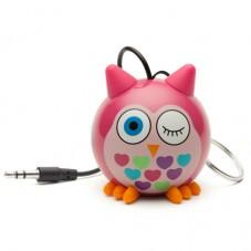 Boxa portabila KitSound MyDoodles Trendz Mini Buddy Owl