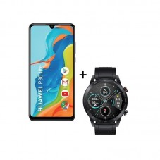 Pachet Huawei P30 Lite + Smartwatch Huawei Honor Magic 2