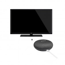Pachet TV JVC + Google Home Mini