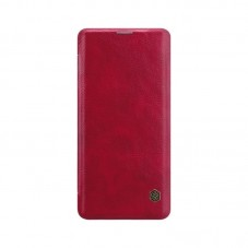 Husa Nillkin Book Qin pt Samsung Galaxy S21+, red