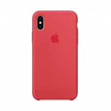 Husa Apple silicon red raspberry pt Iphone X MRG12ZM-A