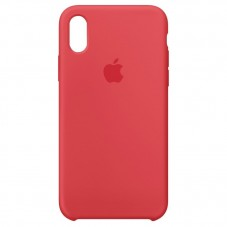 Husa Apple silicon red pt Iphone X MGT52ZM-A