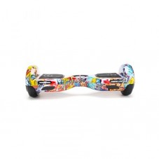 Scooter Electric (Hoverboard) Freewheel Junior Lite - Graffiti, blue