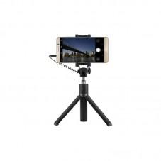 Selfie stick Huawei AF14 tripod cu cablu jack 3.5mm, black