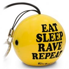 Boxa portabila KitSound MyDoodles Trendz Fatboy Slim Eat Sleep Rave Repeat